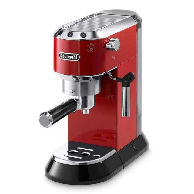 De'Longhi Machine à Espresso Dedica Style - EC695.R - Rouge