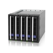 ICY DOCK - Backplane 3x5,25'' FatCage MB155SP-B pour 5 disques durs 3,5'' SATA
