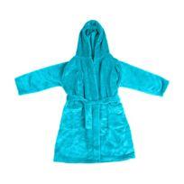 780a4b8eebf0f Sans Marque - Peignoir - Enfant - Microfibre - Doudou - Turquoise -  DiffÉRENTES