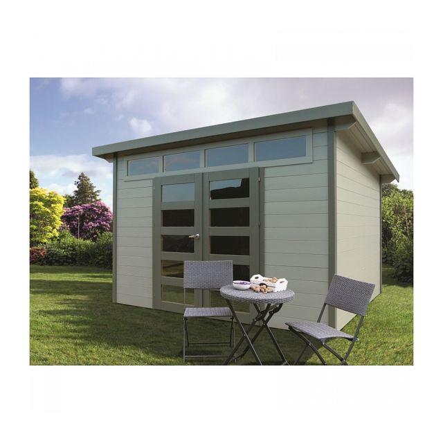 solid abri de jardin maisonnette chalet de jardin verona. Black Bedroom Furniture Sets. Home Design Ideas