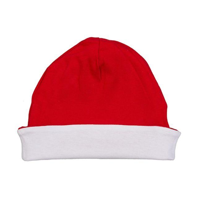 9865cf8e40e Babybugz - bonnet enfant réversible - Bz44 - rouge et blanc - pas ...