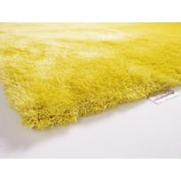 Colour Courage - Tapis shaggy Curry jaune