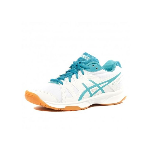 6b964c39783c6 Asics - Gel Upcourt Gs Fille Chaussures Volley-ball Blanc - pas cher ...