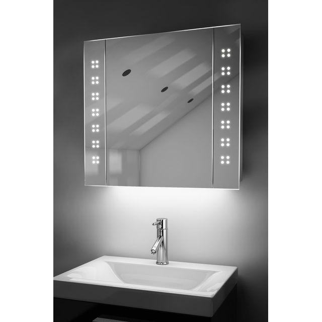 diamond x collection miroir de salle de bain avec. Black Bedroom Furniture Sets. Home Design Ideas