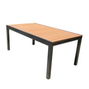 Kaligrafik table de jardin extensible en aluminium et for Table extensible en largeur