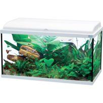 Aquatlantis - Aquarium Aquadream Led 80cm 90L blanc