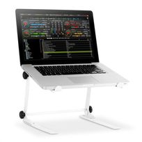 RESIDENT DJ - 1Lap Support laptop mixer -blanc