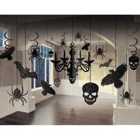 Amscan - Lustre et décorations à paillettes Halloween
