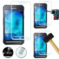 Cabling - Film durci de Samsung Xcover 3 G388F - Verre trempe solide transparent de protection