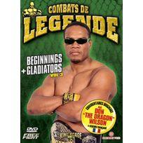 Nacarat Prod - Combats de légende - Beginnings + Gladiators - Vol. 3