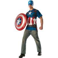 Rubies - Déguisement de Captain America - Marvel