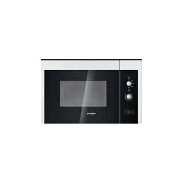 Siemens Micro Ondes Encastrable 25l 900w Blanc Hf22m264 Achat