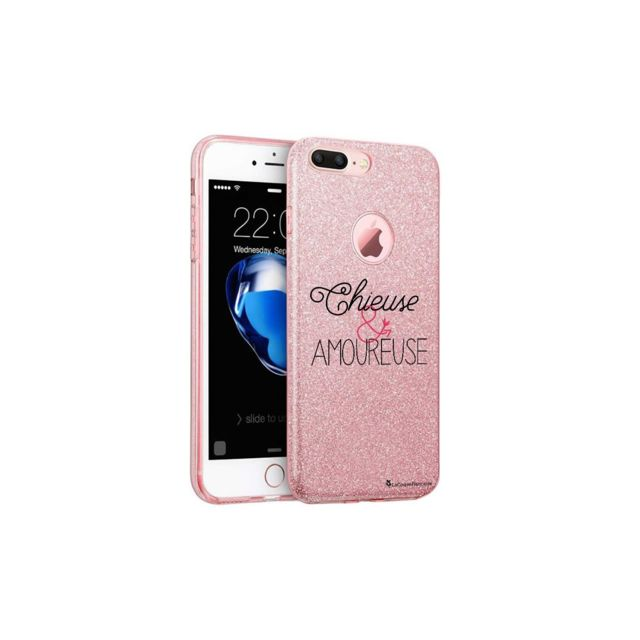 coque iphone 8 plus rose cerise