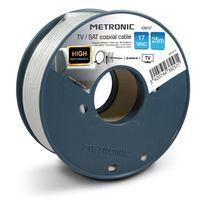 Metronic - Câble coaxial Tv / Sat 17 VatC 25 m