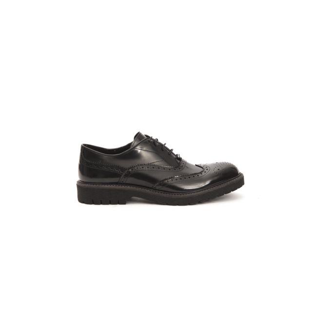 d76c142b657 Trussardi - Chaussures Collection Positano Noir - pas cher Achat   Vente  Chaussures de ville homme - RueDuCommerce