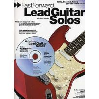 Wise Publications - Fast Forward - Lead Guitar Solos + Cd