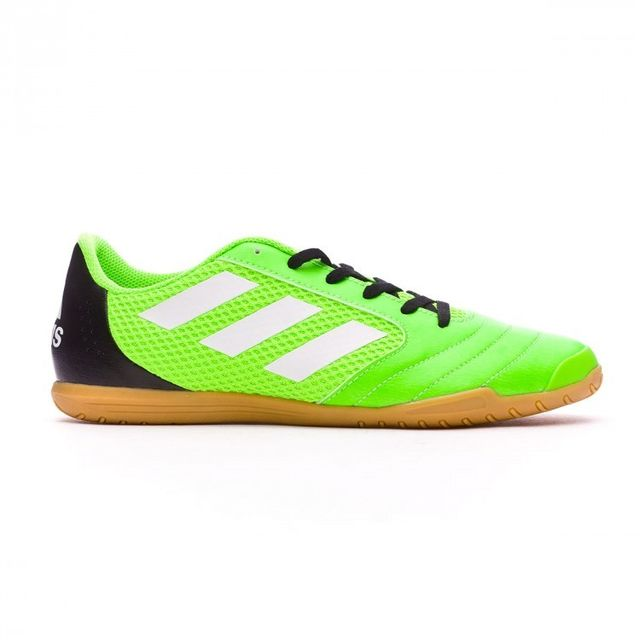 Adidas - Chaussure de foot en salle Ace 17.4 Sala Solar green-White-Core 8d4cf9f4d923