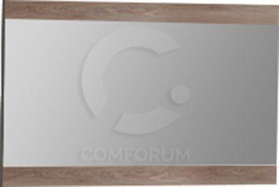 Comforium Miroir mural rectangulaire 68x115 cm pour chambre à coucher