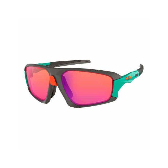 66ebbd7d08b8b8 Oakley - Lunettes Oakley Field Jacket Matte Dark Gray avec verres Prizm  Trail