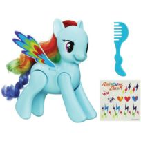 MY LITTLE PONY - Figurine - Rainbow Dash Saute Et Vole - A59051010