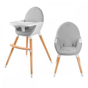 kinderkraft fini chaise haute b b 2en1 style scandinave nordique bois blanc pas cher achat. Black Bedroom Furniture Sets. Home Design Ideas