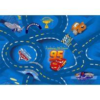 Bebegavroche - Tapis circuit Cars bleu Disney