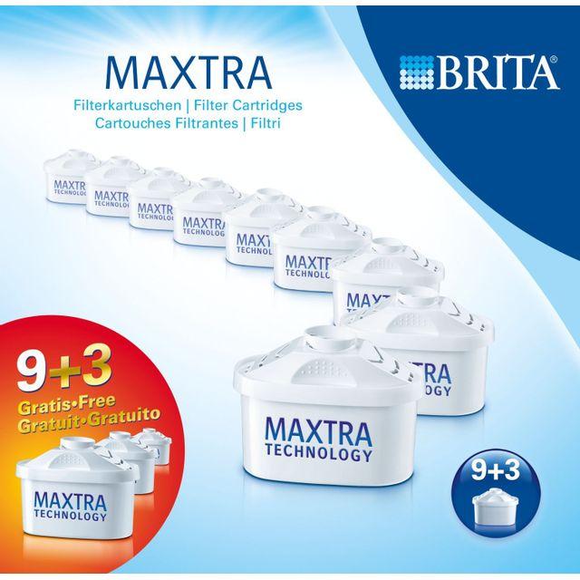 brita pack de 12 cartouches maxtra 1008003 pas cher. Black Bedroom Furniture Sets. Home Design Ideas