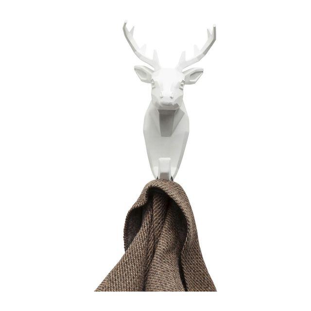 Karedesign Portemanteau Cerf blanc Kare Design
