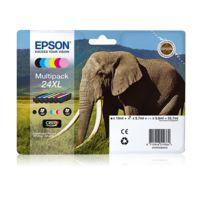 EPSON - Multipack 6 couleurs XL ''Eléphant'' - T2438