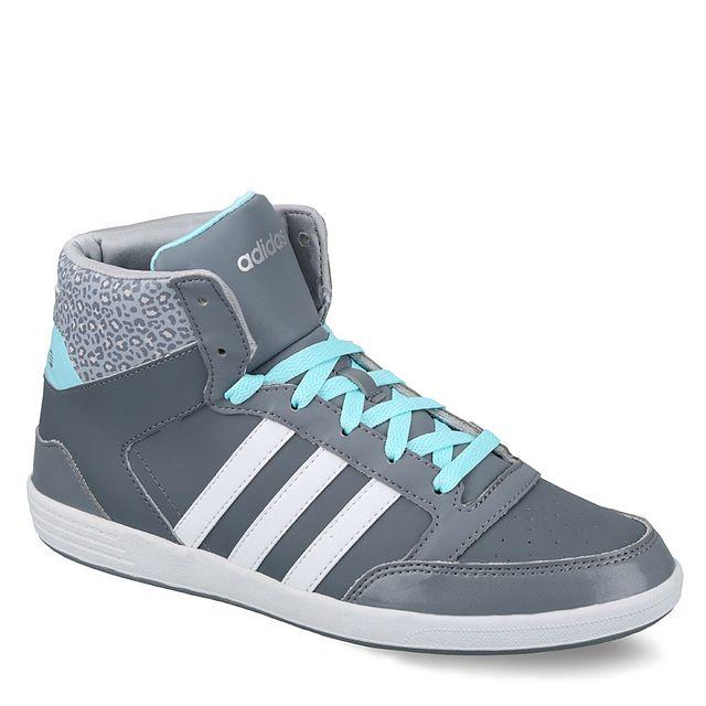 pretty nice 2321e 58666 Adidas - Neo-Chaussure Hoops Vl Mid W Femme Gris F98641 - pas cher Achat    Vente Baskets femme - RueDuCommerce