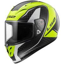 Ls2 - casque moto intégral Fibre Arrow C Evo Ff323.35 Fury carbone fluo brillant 3XL