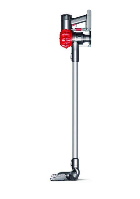 DYSON - Aspirateur balai V6 slim extra - 227463-01 - Gris/Rouge