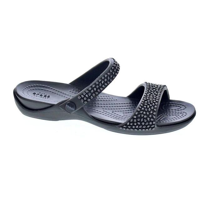 V Chaussures Femme Crocs Pas Diamante Cher Modele Cleo Tongs nPk8wO0