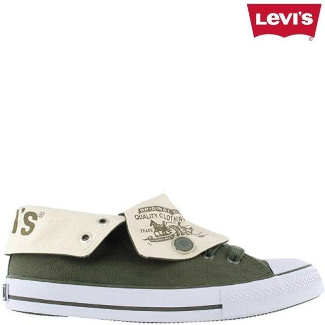 Levi's - Horse Hi Top kaki converse, haute, all star, vert ...