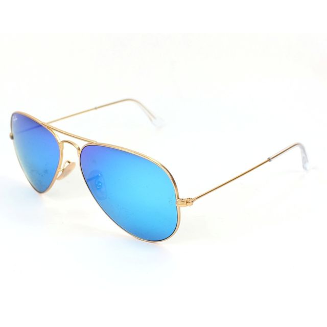 Ray-Ban - Ray Ban - Aviator metal Rb3025 112 17 Or - Lunettes de ... d2158da56ebd