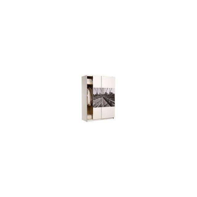 rocambolesk new york rangement blanc megeve pas cher achat vente armoire enfant. Black Bedroom Furniture Sets. Home Design Ideas