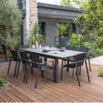 Salon jardin aluminium rallonge 8 personnes - catalogue 2019 ...