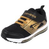 Airness - Chaussures scratch Globe noir or pt Noir 76958