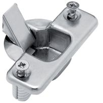 Fgv - Charniere De Meuble Genios Pour Ouverture 110 Degres - Pour Porte En Applique Recouvrement Total - Entraxe mm:52 - Type de boitier:A Enfoncer - Cond.:1