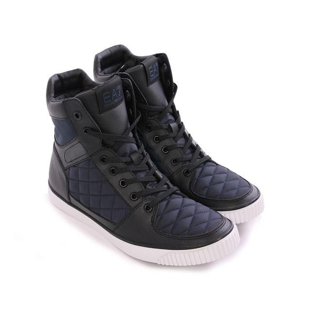 278061 40 Armani Noir 23 Sneakers 6a299 Homme Pas Ea7 Yg6ybf7