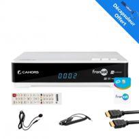 Cahors - Récepteur Tv satellite Hd + Carte Fransat + Câble Hdmi + Câble 12V + Déport Ir