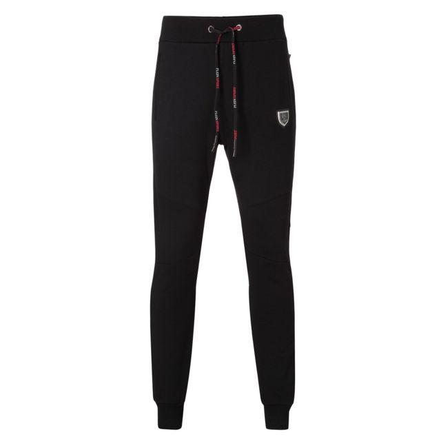 Plein Sport Pantalon Sportswear Printé Mjt0155 Tennis