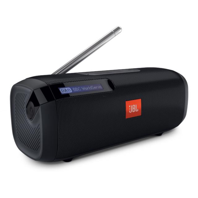 Tuner noir Radio numérique