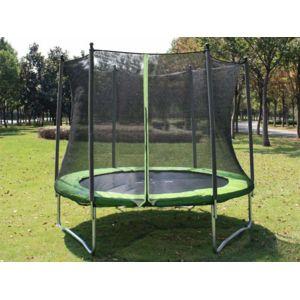 soulet trampoline 2 44 m pas cher achat vente trampolines rueducommerce. Black Bedroom Furniture Sets. Home Design Ideas