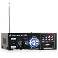 AV-360 ampli HiFi stéréo USB SD MP3 AUX FM