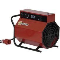 SOVELOR - Chauffage électrique triphasé air pulsé mobile -C9