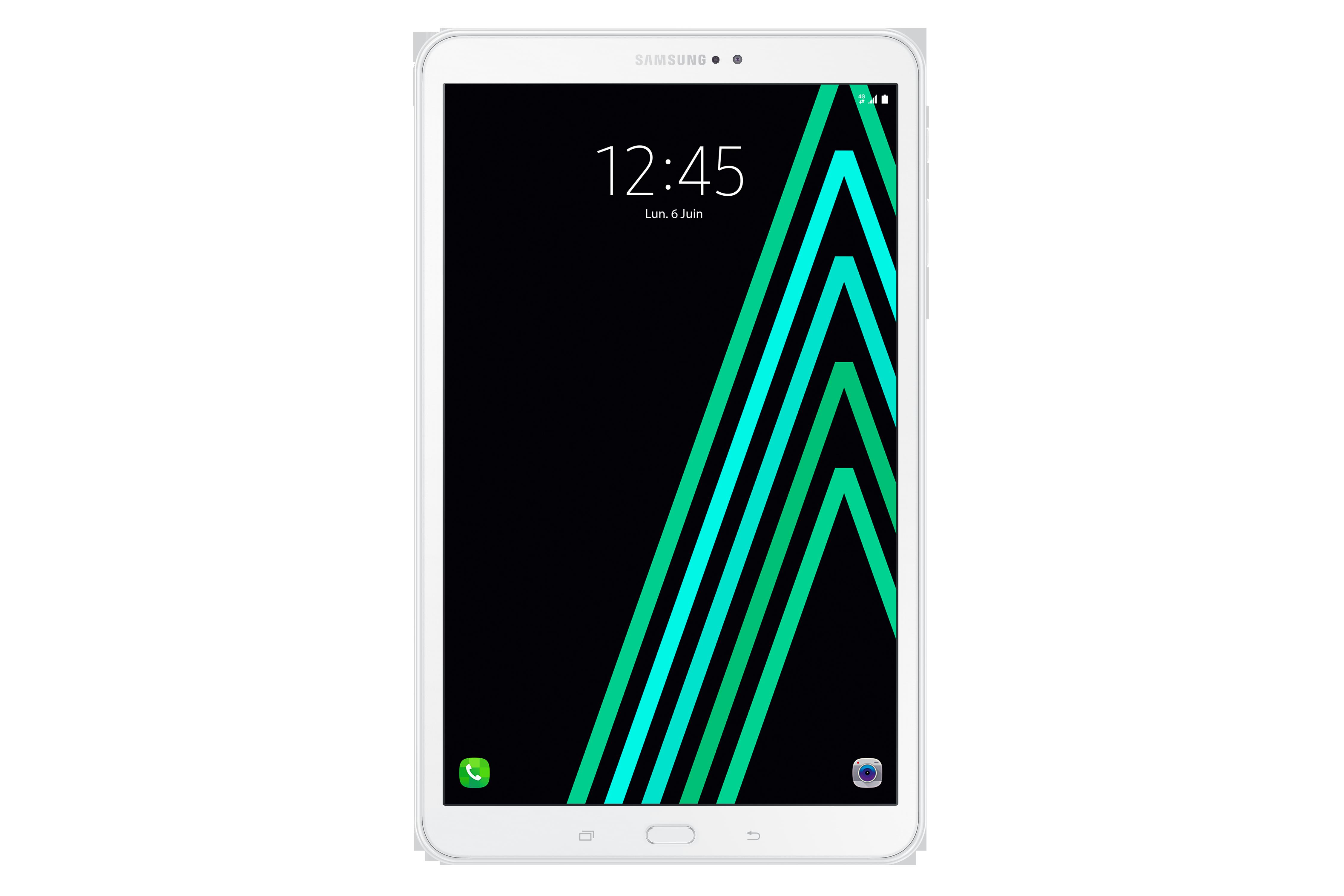 Galaxy Tab A6 - 10,1'' - 16 Go - 4G - Blanc