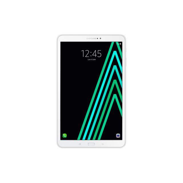 Samsung - Galaxy Tab 2016 10 - 16 Go - Wifi + 4G - Blanc
