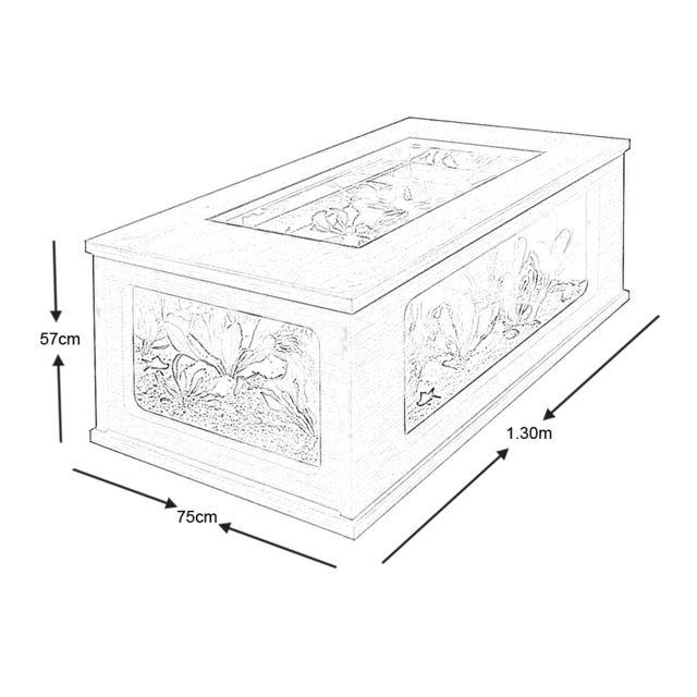 Zolux Table Basse Aquarium 300 Litres Pas Cher Achat Vente