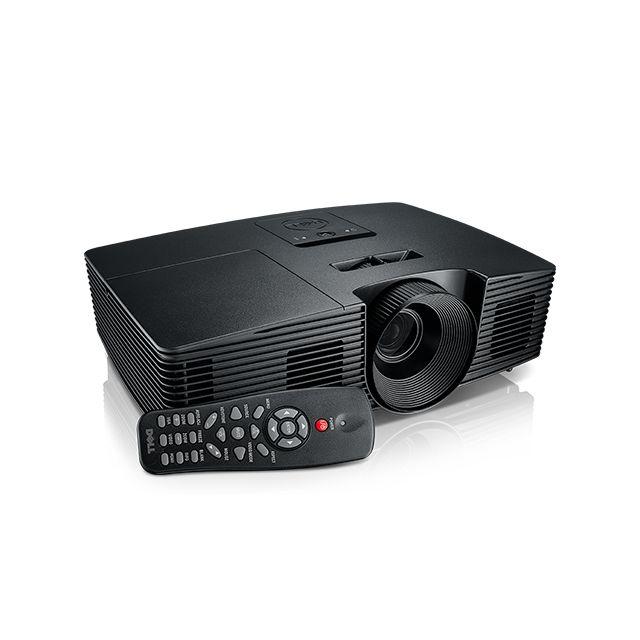 Dell P318s Dell P318s : desktop projector 3200ansi Lumens, Dlp svga (800x600) 3d black data projector (PROJ-P318S)